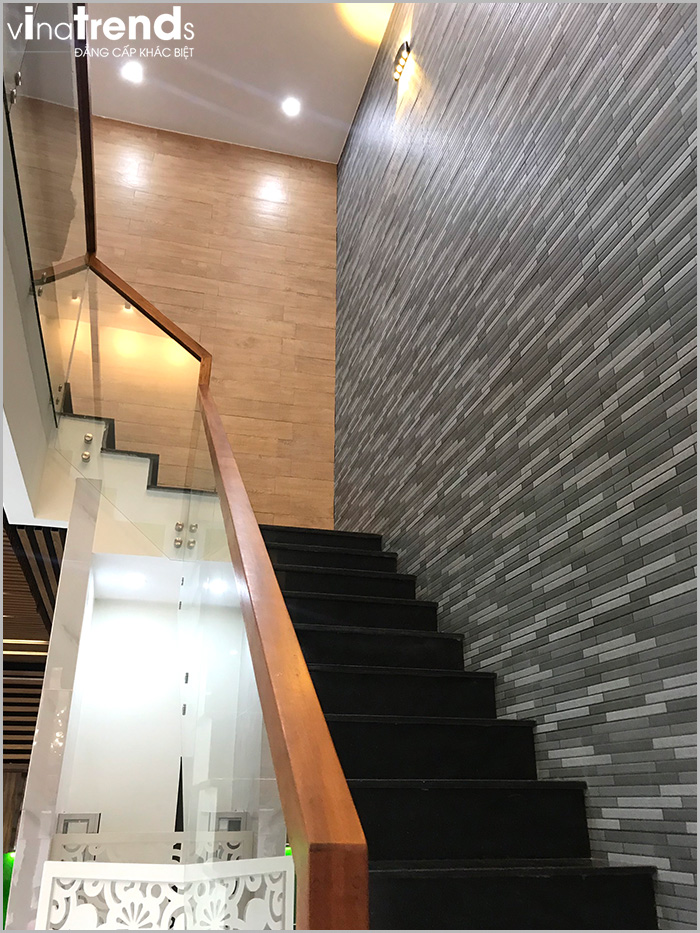 trang tri cau thang biet thu 2 tang 15m dai 20m 4 VinaTrends   Công ty xây dựng tại Đồng Nai hơn 499 công trình thiết kế xây nhà trọn gói trên toàn Việt Nam