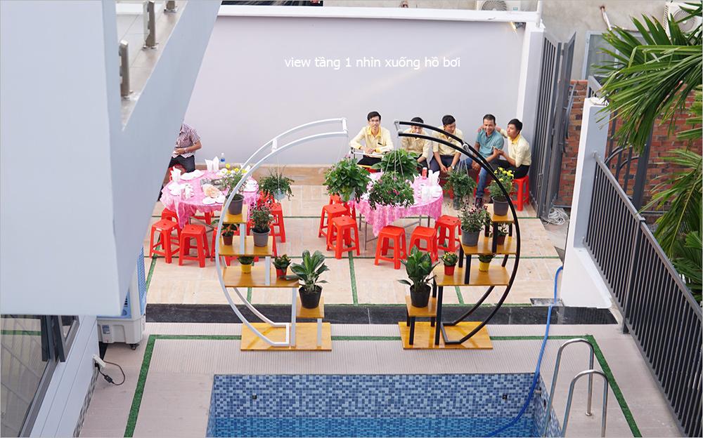 trang tri ho boi [KHÔNG PHÁT SINH] xây nhà biệt thự 2 tầng ở Đồng Nai từ thiết kế đến hoàn công