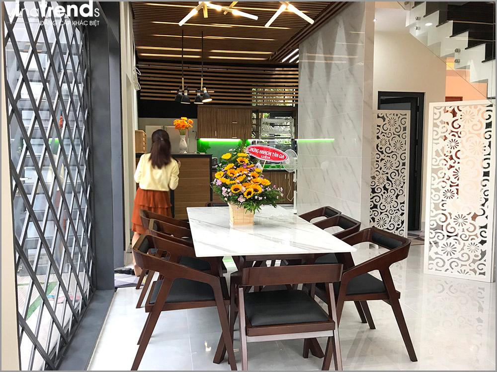 trang tri noi that bep hien dai biet thu 3 tang dep 1 [KHÔNG PHÁT SINH] xây nhà biệt thự 2 tầng ở Đồng Nai từ thiết kế đến hoàn công