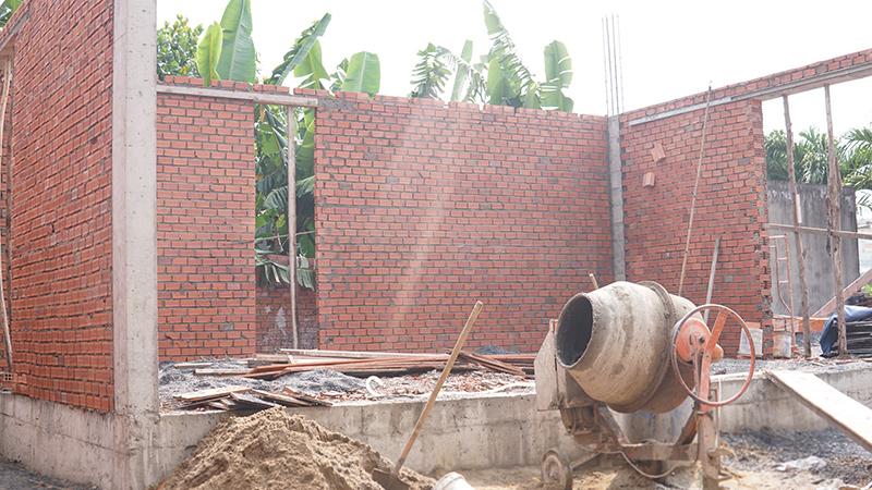 cong ty xay dung bien hoa nha a trang 2 Biệt thự vườn nhà 1 tầng hiện đại 8x19m kiểu phương Tây không gian mở ở Biên Hòa