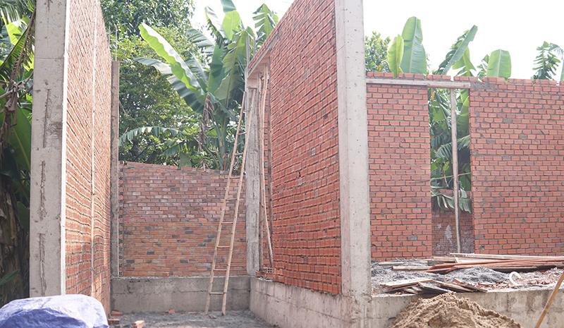 cong ty xay dung bien hoa nha a trang 4 Biệt thự vườn nhà 1 tầng hiện đại 8x19m kiểu phương Tây không gian mở ở Biên Hòa