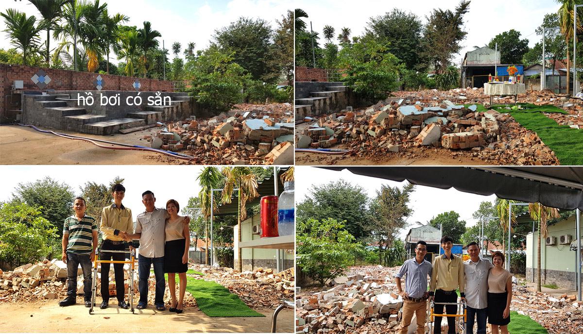khoi cong thi cong biet thu 2 tang o long thanh [KHÔNG PHÁT SINH] xây nhà biệt thự 2 tầng ở Đồng Nai từ thiết kế đến hoàn công