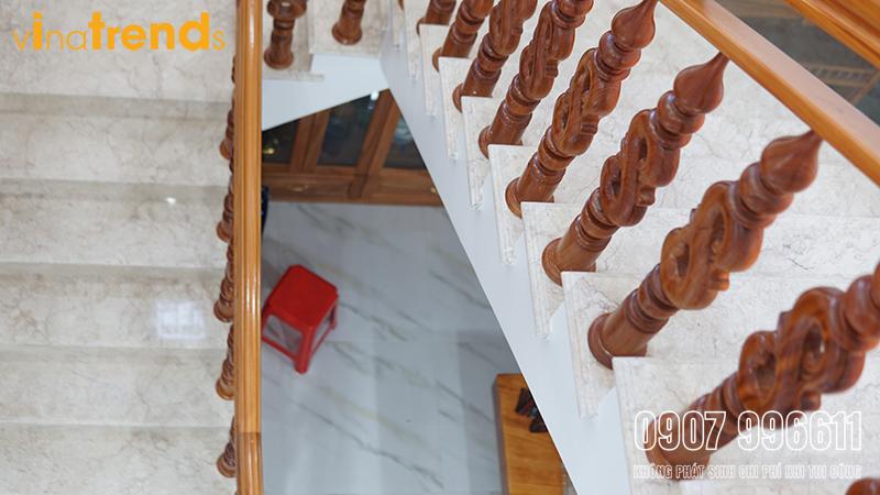 mau biet thu dep 2 tang mai thai chu l 9x17m do cong ty xay dung bien hoa vinatrends thuc hien 2 Mẫu biệt thự 2 tầng mái thái 9x17m có bản vẽ chi tiết hình xây xong thực tế ở Biên Hòa