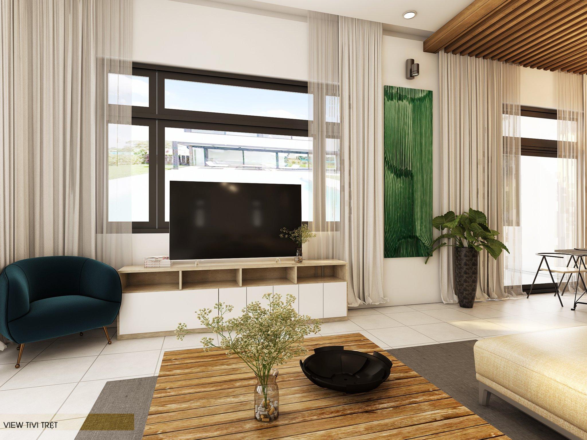 noi that hien dai biet thu 2 tang mini 12 [KHÔNG PHÁT SINH] xây nhà biệt thự 2 tầng ở Đồng Nai từ thiết kế đến hoàn công