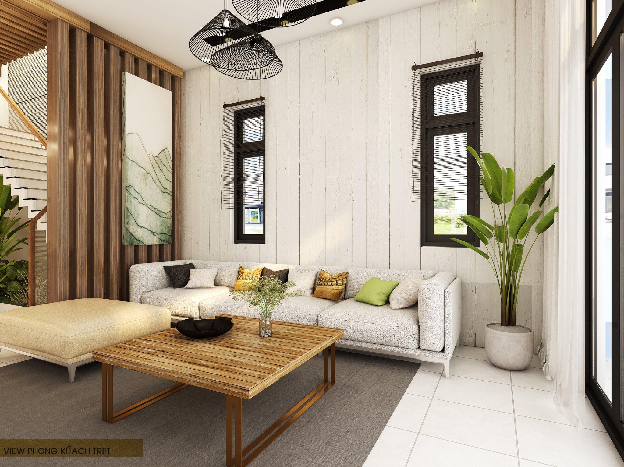 noi that hien dai biet thu 2 tang mini 13 [KHÔNG PHÁT SINH] xây nhà biệt thự 2 tầng ở Đồng Nai từ thiết kế đến hoàn công