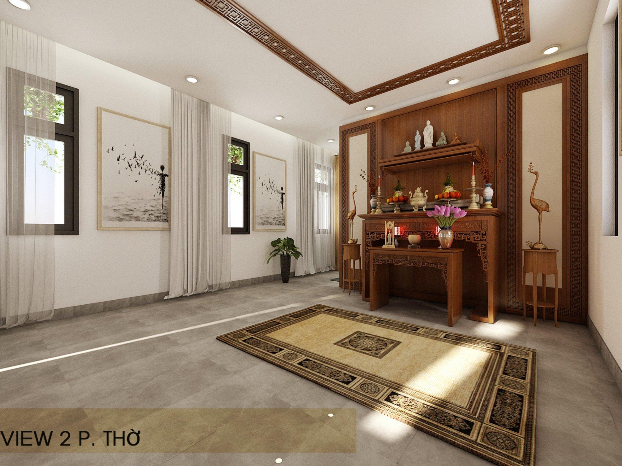 noi that hien dai biet thu 2 tang mini 14 1 [KHÔNG PHÁT SINH] xây nhà biệt thự 2 tầng ở Đồng Nai từ thiết kế đến hoàn công