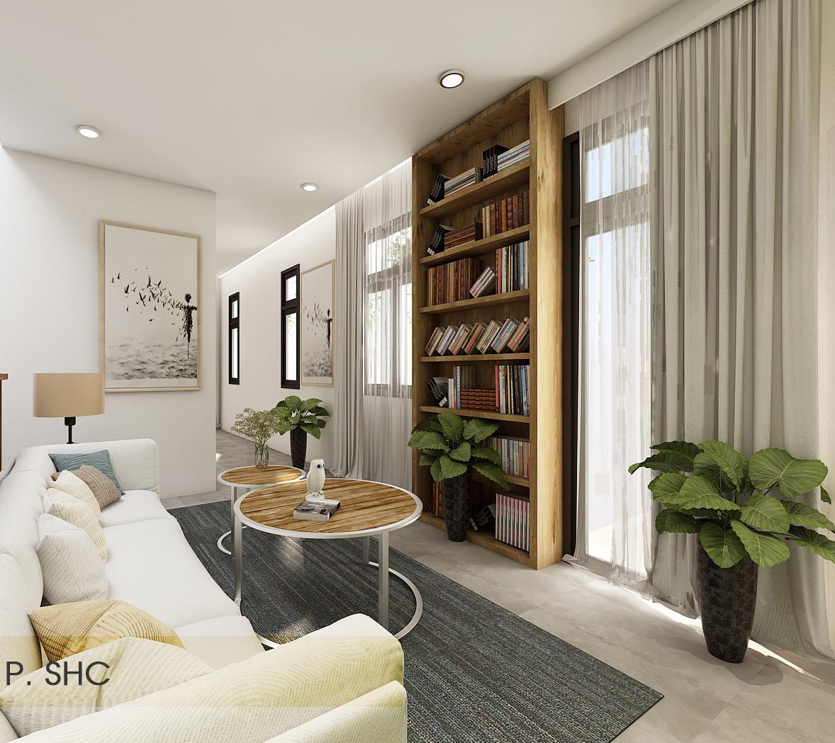 noi that hien dai biet thu 2 tang mini 16 [KHÔNG PHÁT SINH] xây nhà biệt thự 2 tầng ở Đồng Nai từ thiết kế đến hoàn công
