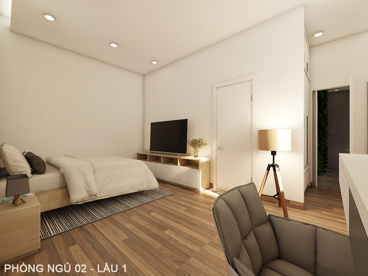 noi that hien dai biet thu 2 tang mini 4 [KHÔNG PHÁT SINH] xây nhà biệt thự 2 tầng ở Đồng Nai từ thiết kế đến hoàn công
