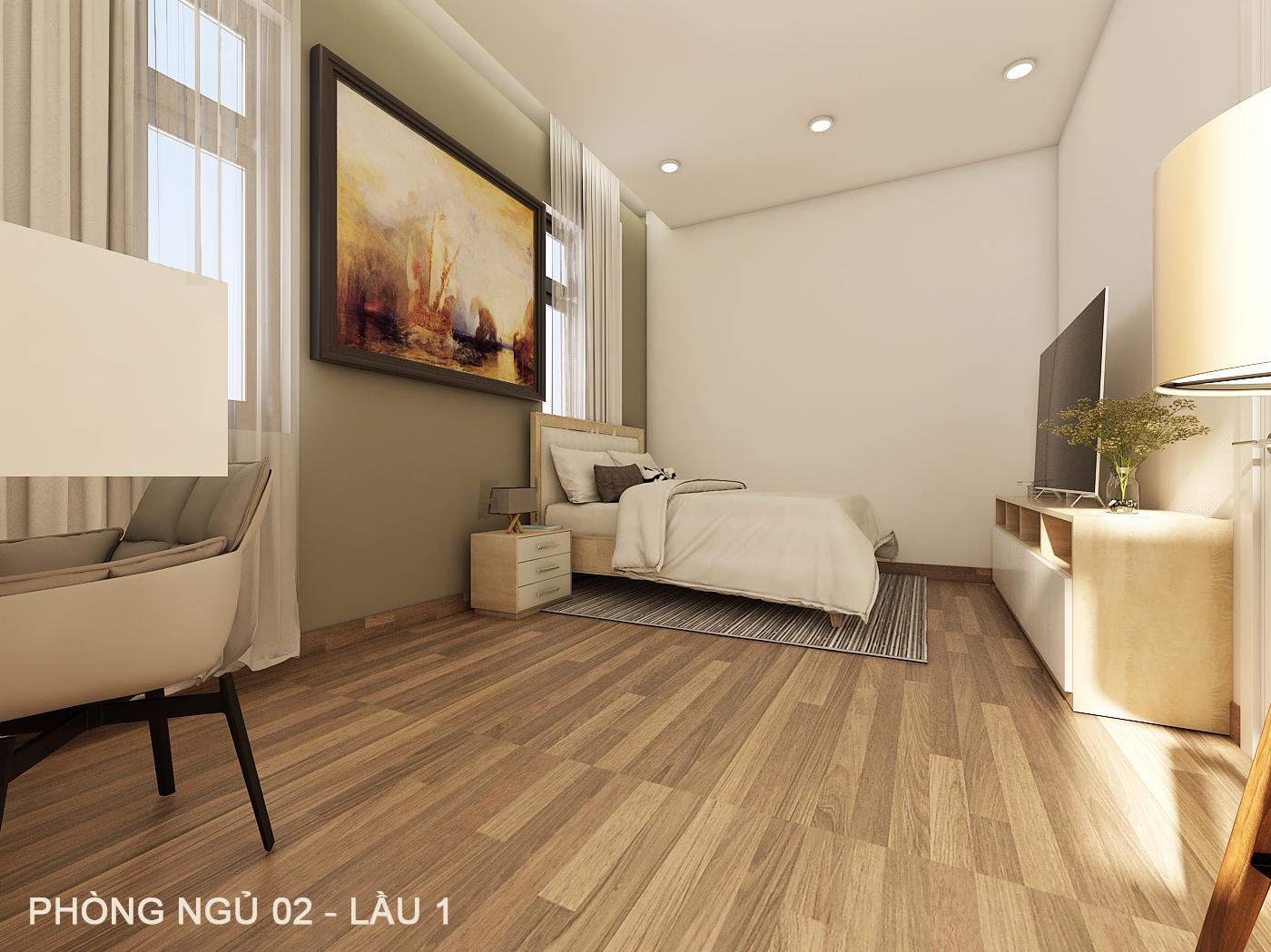 noi that hien dai biet thu 2 tang mini 5 [KHÔNG PHÁT SINH] xây nhà biệt thự 2 tầng ở Đồng Nai từ thiết kế đến hoàn công