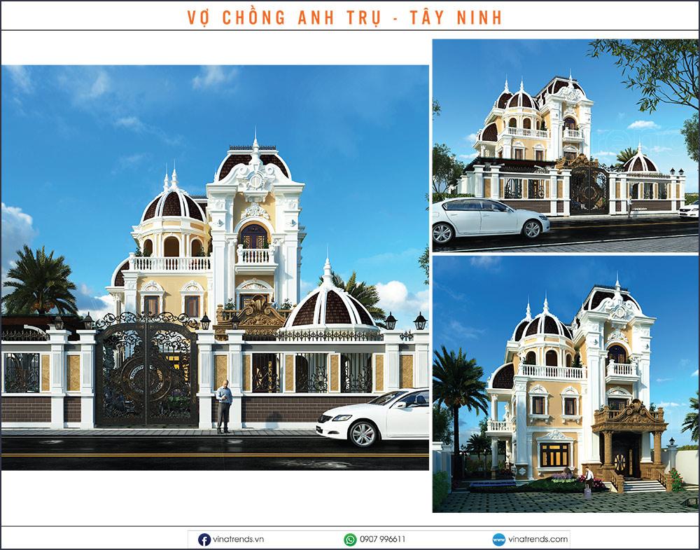 mau biet thu dep nhat 2020 10 Mẫu biệt thự đẹp 1   2   3   4   5 tầng [catalogue 2020]