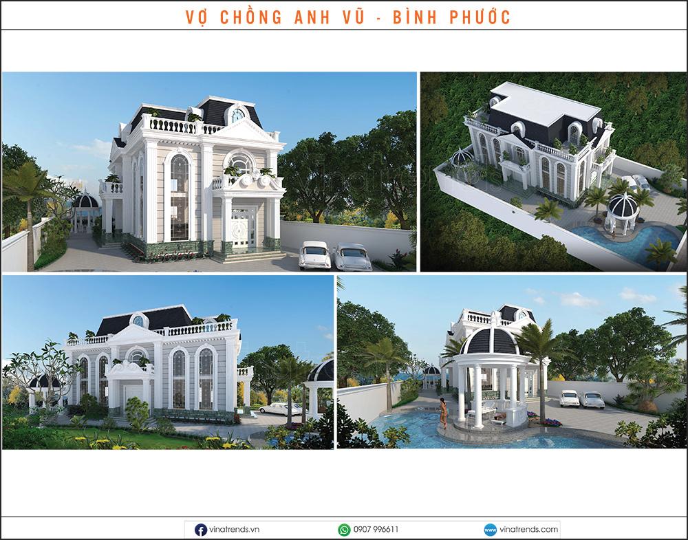 mau biet thu dep nhat 2020 14 Mẫu biệt thự đẹp 1   2   3   4   5 tầng [catalogue 2020]