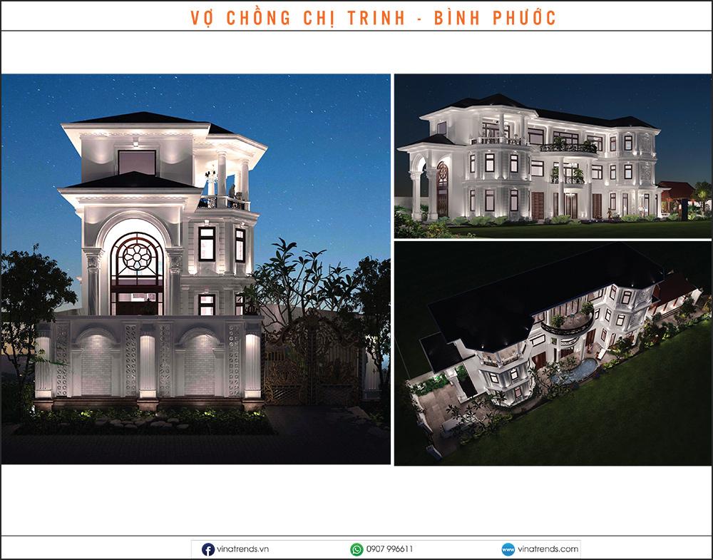 mau biet thu dep nhat 2020 15 Mẫu biệt thự đẹp 1   2   3   4   5 tầng [catalogue 2020]