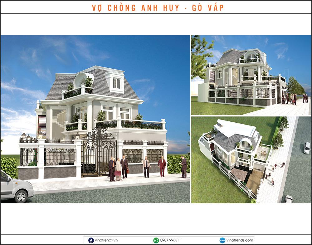 mau biet thu dep nhat 2020 17 Mẫu biệt thự đẹp 1   2   3   4   5 tầng [catalogue 2020]