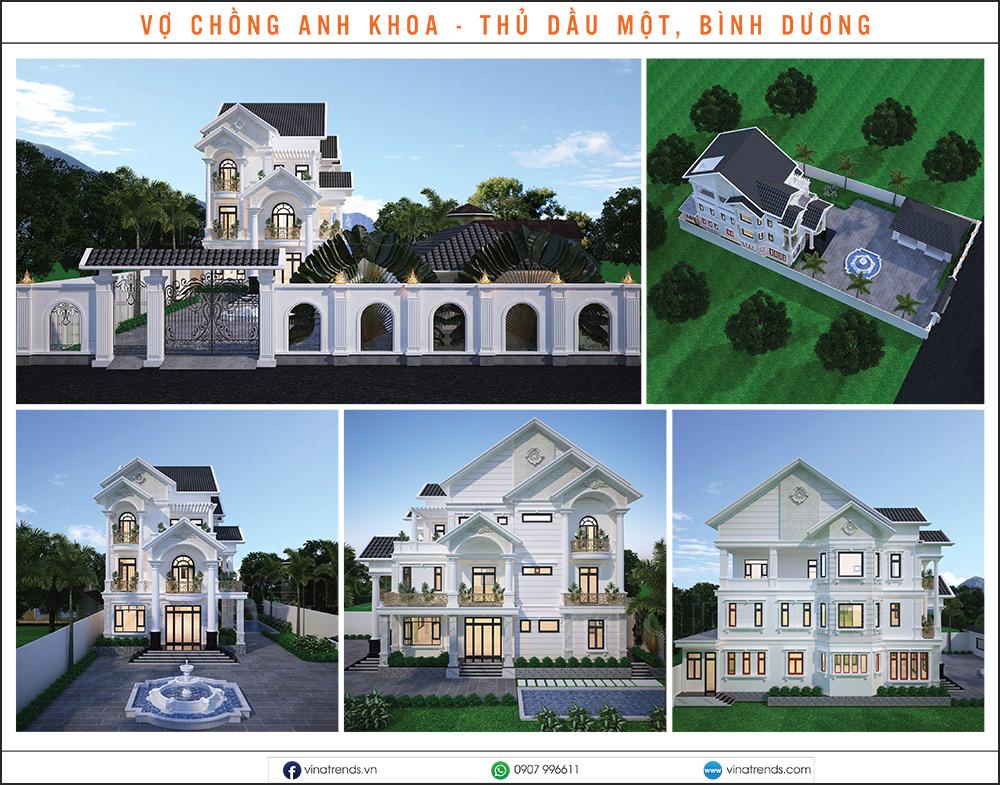 mau biet thu dep nhat 2020 26 Mẫu biệt thự đẹp 1   2   3   4   5 tầng [catalogue 2020]
