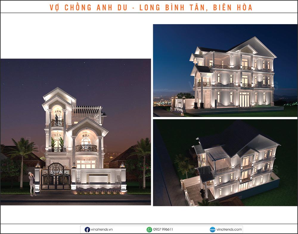 mau biet thu dep nhat 2020 27 Mẫu biệt thự đẹp 1   2   3   4   5 tầng [catalogue 2020]