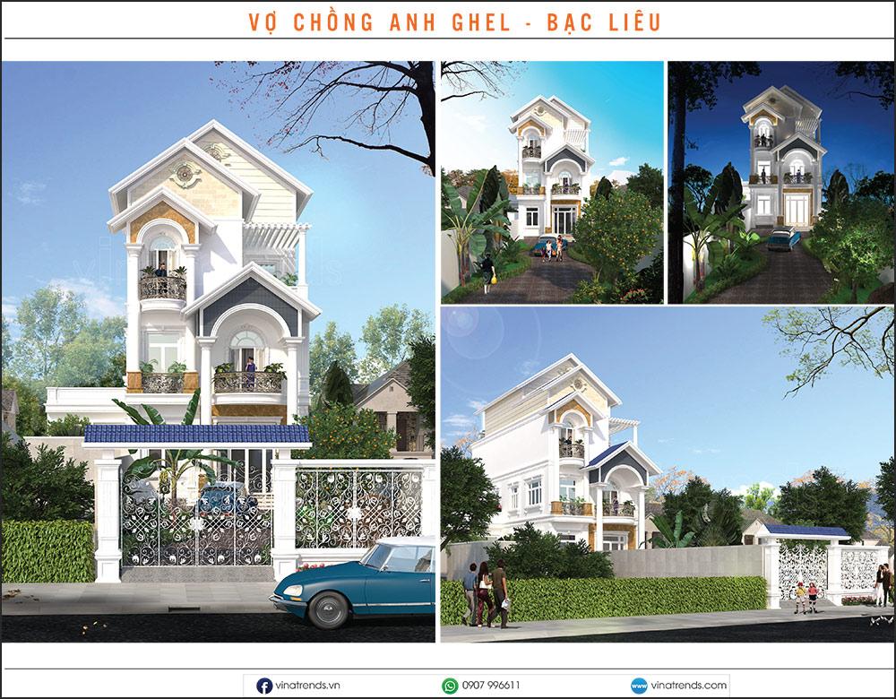mau biet thu dep nhat 2020 30 Mẫu biệt thự đẹp 1   2   3   4   5 tầng [catalogue 2020]