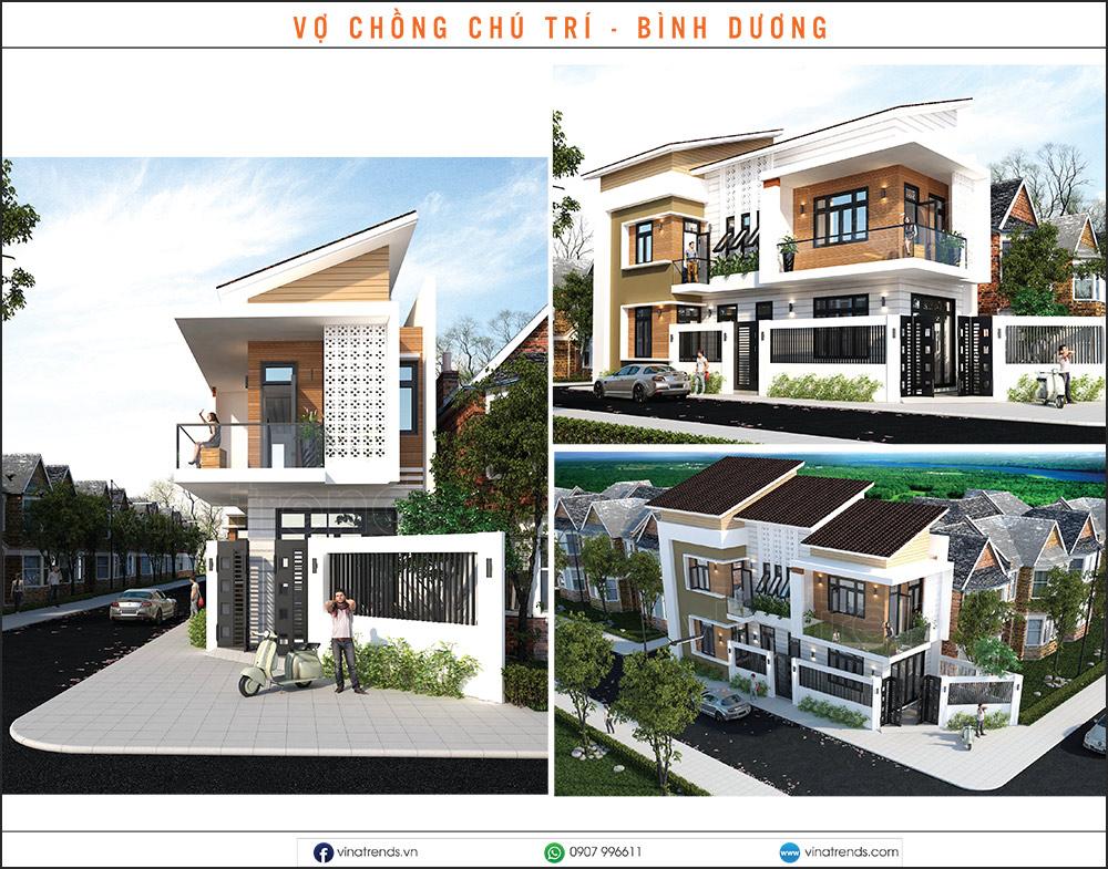 mau nha pho dep moi nhat 1 2 3 4 5 tang 15 Chuyên hoàn thiện nhà liền kề phần thô từ A đến Z (kiến trúc nội thất) cho khách bận rộn ở Đồng Nai