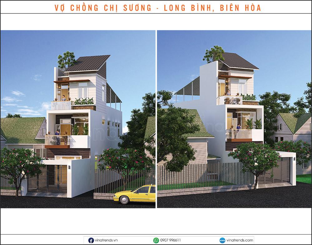 mau nha pho dep moi nhat 1 2 3 4 5 tang 16 15+ mẫu nhà 2 3 4 5 tầng mặt tiền 4m trở lên đẹp sang tiện nghi từ khách VinaTrends đã xây dựng