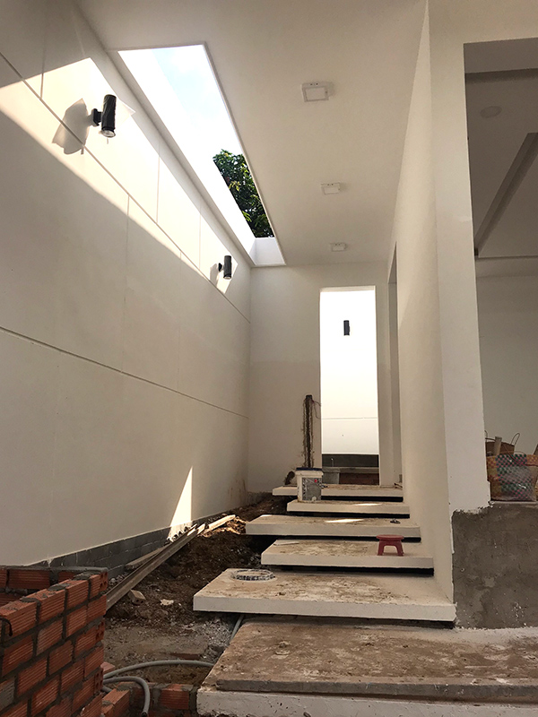 tieu canh biet thu 1 tang hien dai dep Biệt thự vườn nhà 1 tầng hiện đại 8x19m kiểu phương Tây không gian mở ở Biên Hòa