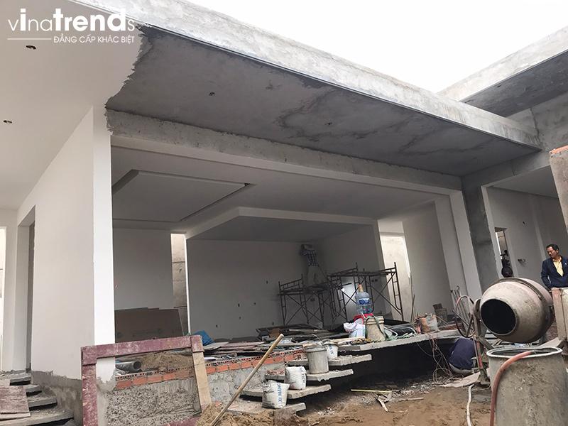 xay nha dep o bien hoa Biệt thự vườn nhà 1 tầng hiện đại 8x19m kiểu phương Tây không gian mở ở Biên Hòa