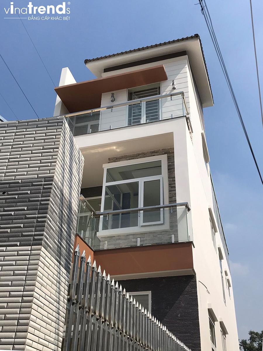 mau nha 3 tang xay 47mx15m xay xong o bien hoa do vinatrends thiet ke thi congjpg 32 VinaTrends   Công ty xây dựng tại Đồng Nai hơn 499 công trình thiết kế xây nhà trọn gói trên toàn Việt Nam
