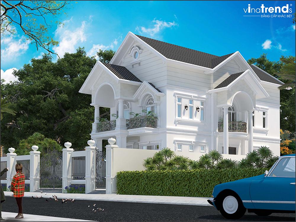 mau biet thu 3 tang mai thai san vuon rong o long thanh bien hoa 7 VinaTrends   Công ty xây dựng tại Đồng Nai hơn 499 công trình thiết kế xây nhà trọn gói trên toàn Việt Nam