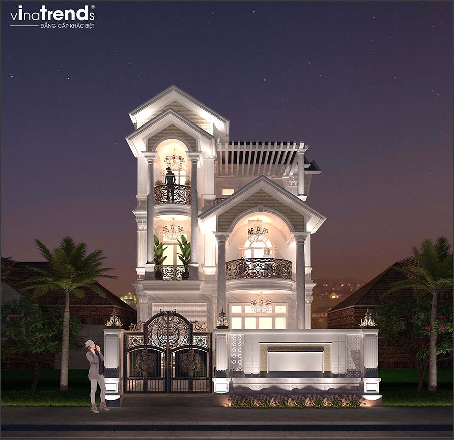 mau biet thu dep 3 tang 1 50+ mẫu nhà biệt thự cổ điển đẹp đẳng cấp nhiều đại gia Việt đã chọn xây