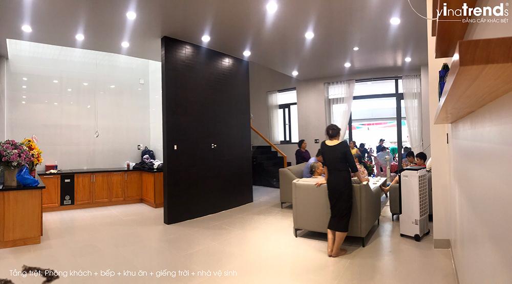 trang tri noi that nha hien dai 3 tang 18 [Ảnh Thực Tế] mẫu nhà 3 tầng đẹp 6,7x12m vật tư chuẩn Tốt được VinaTrends bàn giao đầu năm 2020