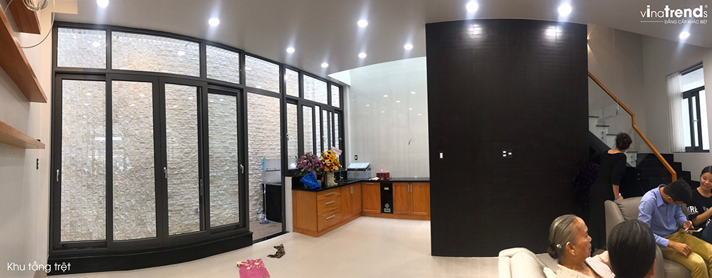 trang tri noi that nha hien dai 3 tang 19 Chuyên hoàn thiện nhà liền kề phần thô từ A đến Z (kiến trúc nội thất) cho khách bận rộn ở Đồng Nai