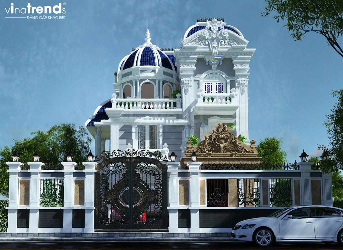 mau nha biet thu 3 tang co dien phap Hướng tốt nhất xây nhà ở tuổi 1987 Đinh Mão mang Vượng khí giàu sang cả đời