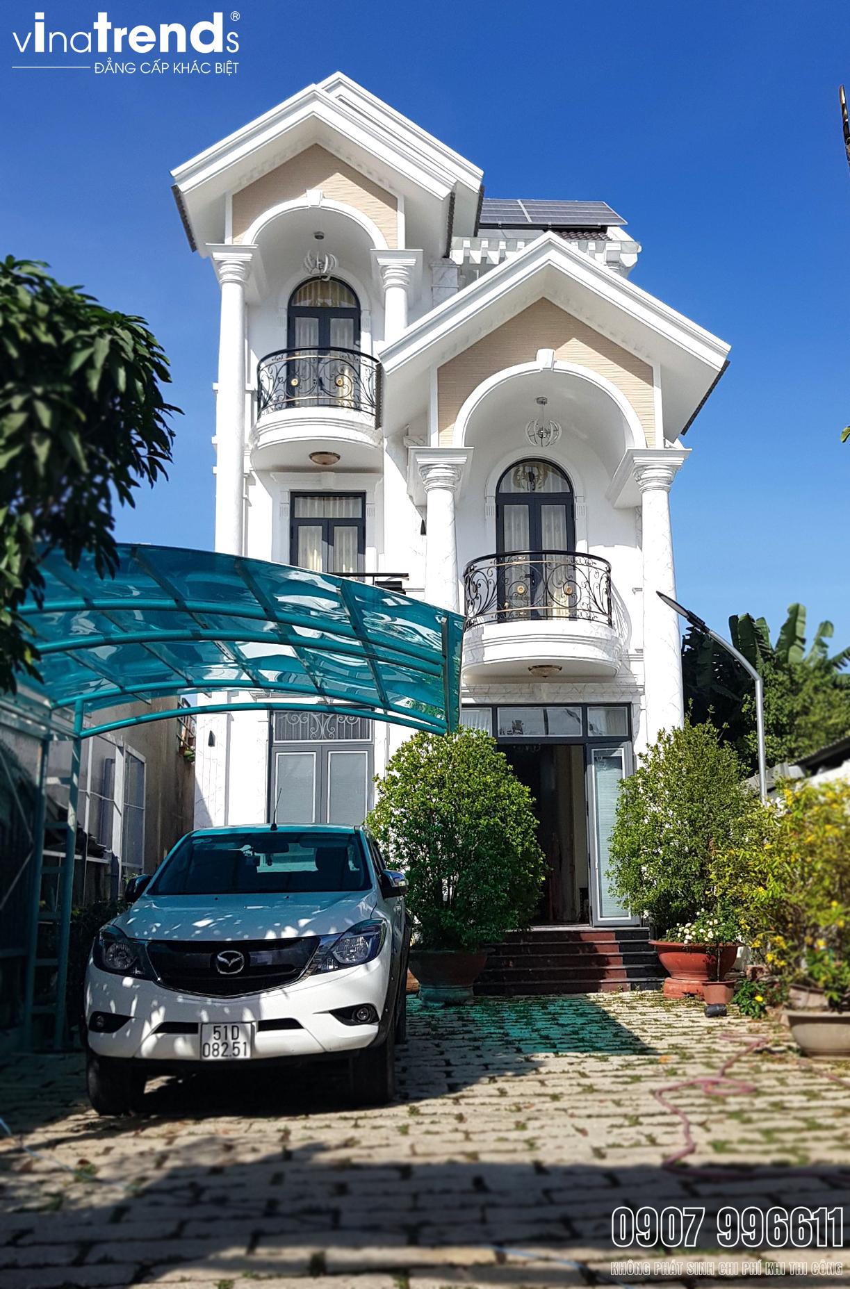 mau biet thu mai thai dep nhat 2 VinaTrends   Công ty xây dựng tại Đồng Nai hơn 499 công trình thiết kế xây nhà trọn gói trên toàn Việt Nam