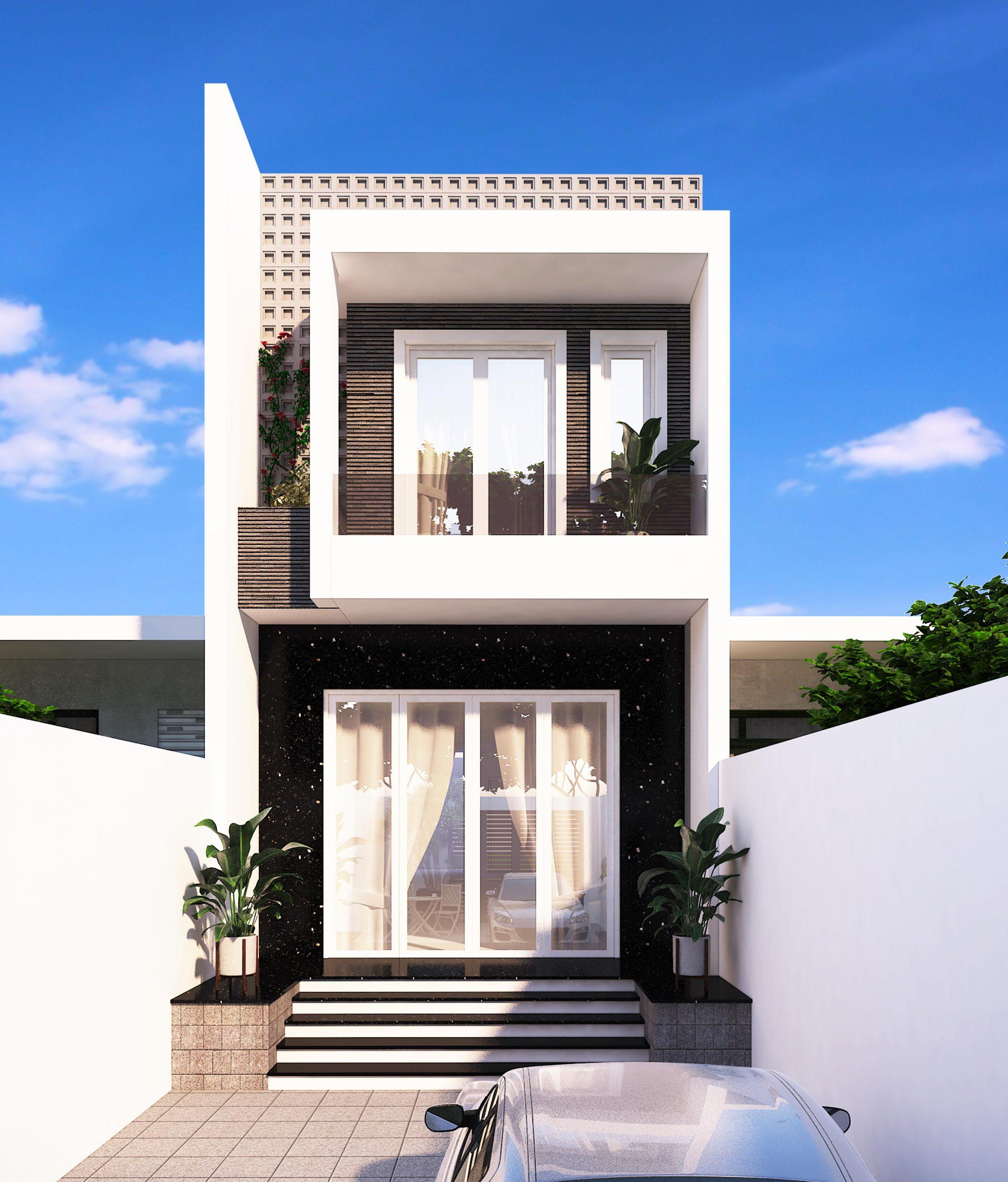 baeec8d5fca906f75fb8 scaled 15+ mẫu nhà 2 3 4 5 tầng mặt tiền 4m trở lên đẹp sang tiện nghi từ khách VinaTrends đã xây dựng