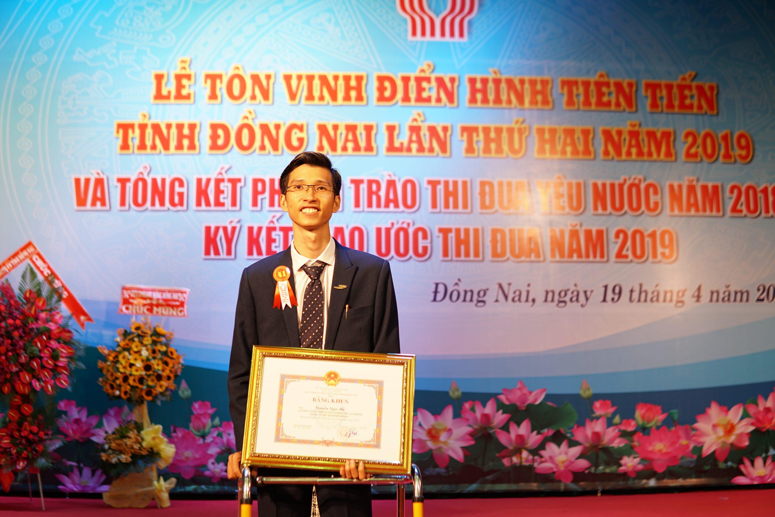 giam doc nguyen ngoc ha vinatrends nhan bang khen ca nhan dien hinh nam 2018 tinh dong nai 11 scaled CEO Nguyễn Hà được tuyên dương điển hình tiên tiến tỉnh Đồng Nai năm 2019