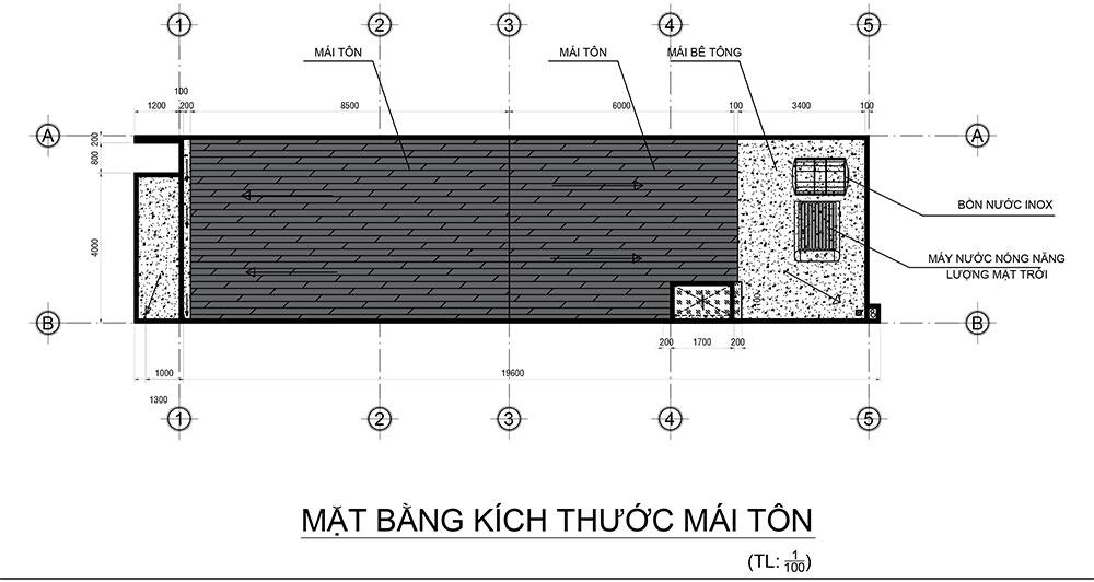mai Mẫu nhà 2 tầng 5x23m tầm 900 triệu trang trí gạch bông gió của hàng xóm VinaTrends