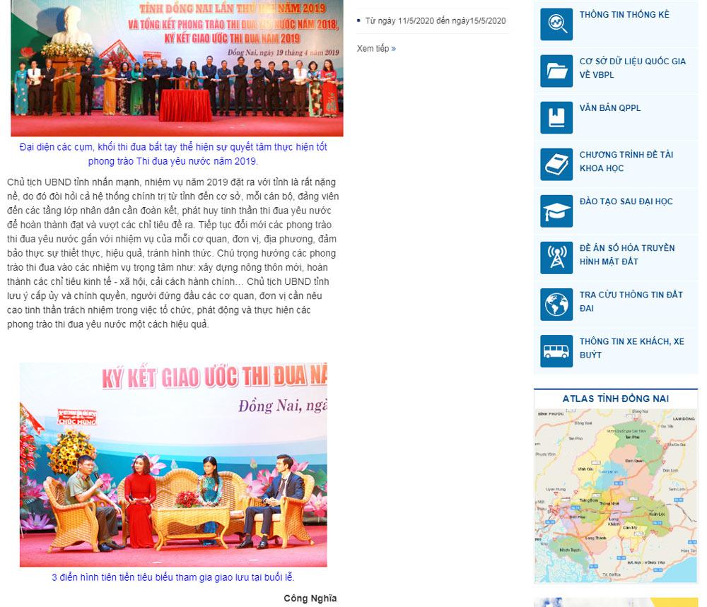 nguon bao dong nai 3 CEO Nguyễn Hà được tuyên dương điển hình tiên tiến tỉnh Đồng Nai năm 2019