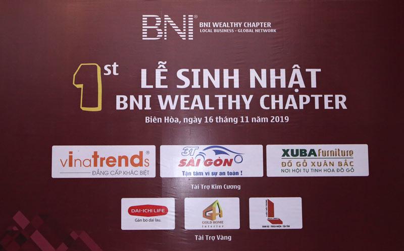 vinatrends tham du sinh nhat bni wealthy 3 VinaTrends tham dự sinh nhật BNI Wealthy lần 1 ngày 23/11/2019