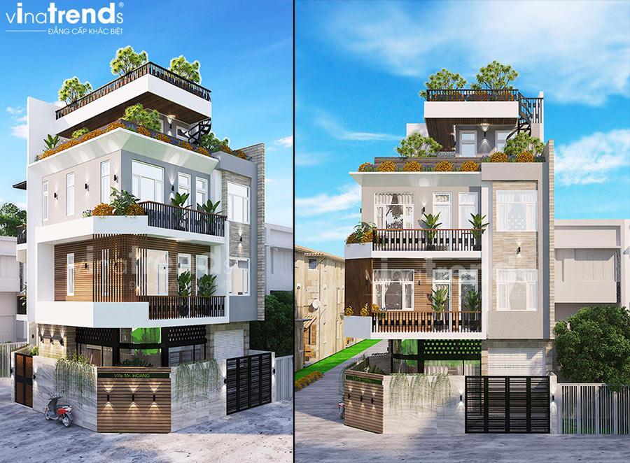 mau biet thu hien dai 4 tang 1 san thuong dep nhat viet nam co 2 mat tien VinaTrends: Công ty xây dựng tại Đồng Nai hơn 300 công trình thiết kế xây nhà trọn gói toàn Việt Nam