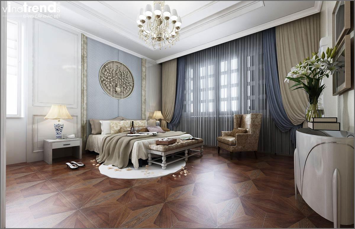 noi that biet thu 2 tang tan co dien vinatrends thiet ke 6 Đơn giá thiết kế nhà phố   biệt thự trọn gói của VinaTrends từ 08/2020