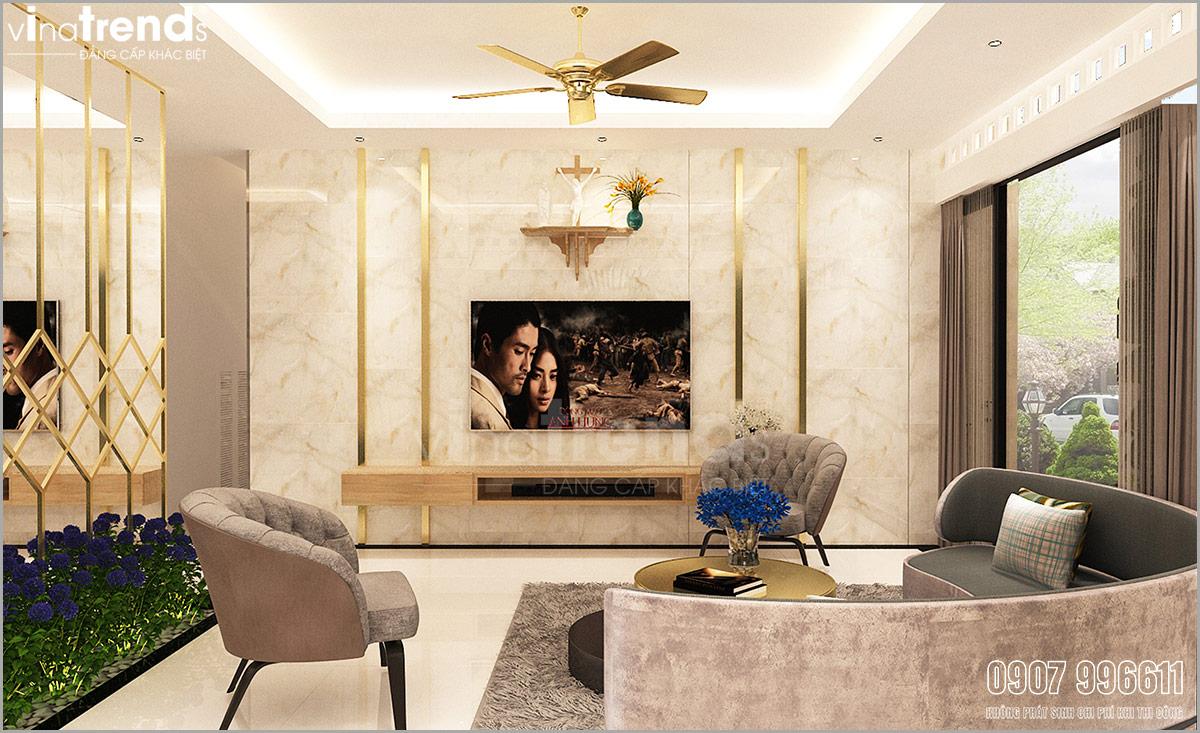 noi that biet thu hien dai dep 2 Mẫu nhà biệt thự hiện đại 3 mặt tiền 4 tầng có sân thượng diện tích 9,6x9,5m ở Quận 2 Sài Gòn