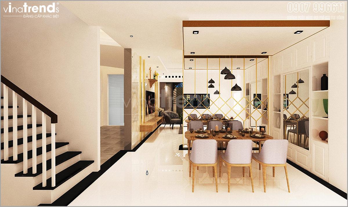 noi that biet thu hien dai dep 3 Mẫu nhà biệt thự hiện đại 3 mặt tiền 4 tầng có sân thượng diện tích 9,6x9,5m ở Quận 2 Sài Gòn