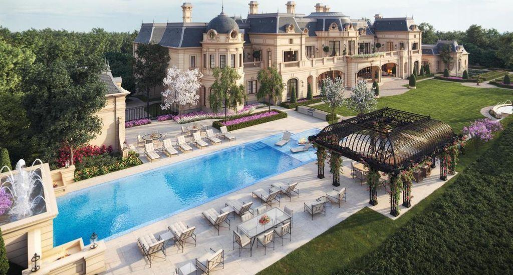 thiet ke mau dinh thu dep nhat the gioi 4 Đơn giá thiết kế nhà phố   biệt thự trọn gói của VinaTrends từ 08/2020