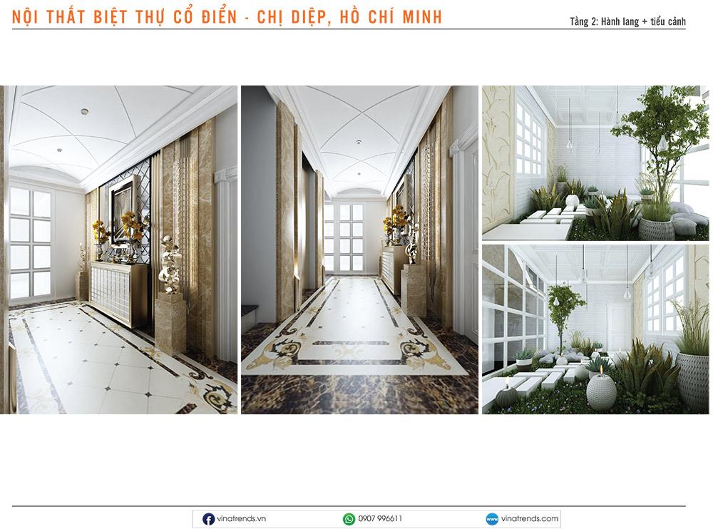 1. thiet ke noi that biet thu tan co dien chi diep hcm 4 Mẫu thiết kế nội thất nhà phố, biệt thự, công trình khác [catalogue 2020]