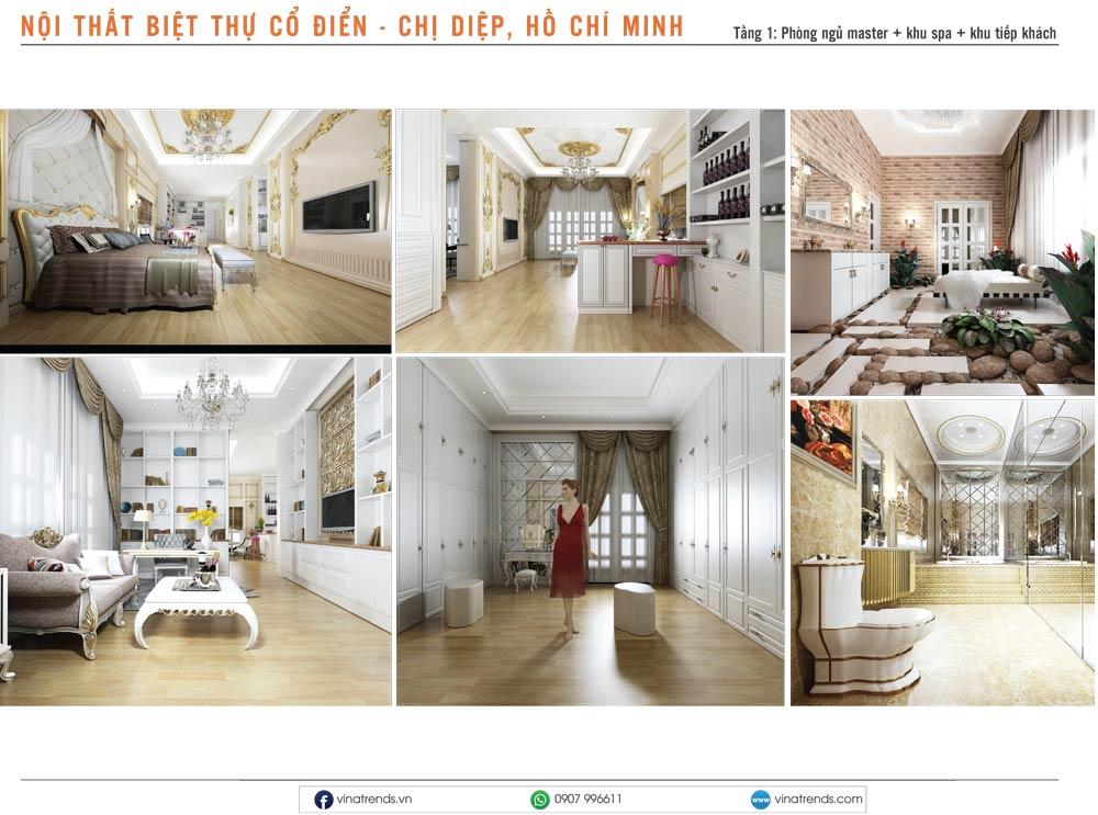 1. thiet ke noi that biet thu tan co dien chi diep hcm Mẫu thiết kế nội thất nhà phố, biệt thự, công trình khác [catalogue 2020]