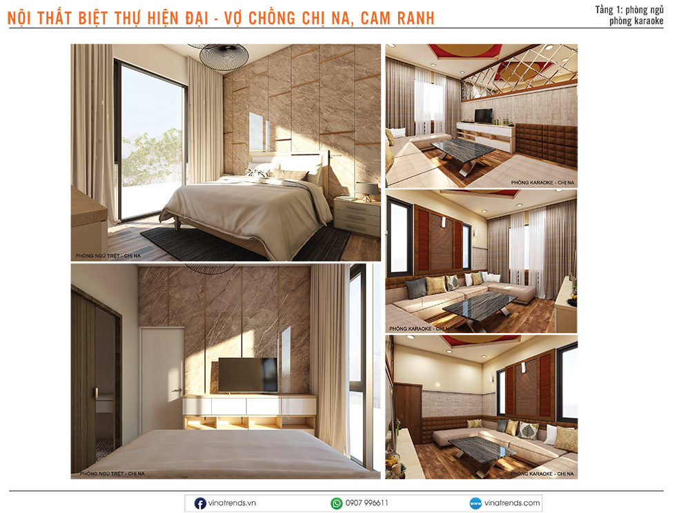 5 thiet ke noi that hien dai cho biet thu dep 1 Mẫu thiết kế nội thất nhà phố, biệt thự, công trình khác [catalogue 2020]