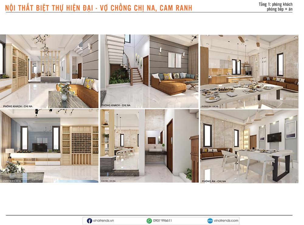 5 thiet ke noi that hien dai cho biet thu dep Mẫu thiết kế nội thất nhà phố, biệt thự, công trình khác [catalogue 2020]