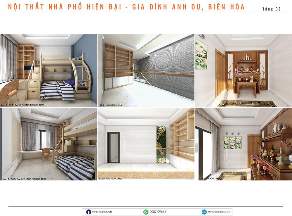 7 thiet ke noi that hien dai nha lien ke 2 1 Mẫu thiết kế nội thất nhà phố, biệt thự, công trình khác [catalogue 2020]