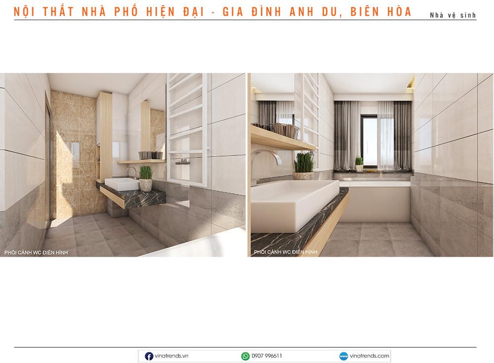 7 thiet ke noi that hien dai nha lien ke 3 1 Mẫu thiết kế nội thất nhà phố, biệt thự, công trình khác [catalogue 2020]