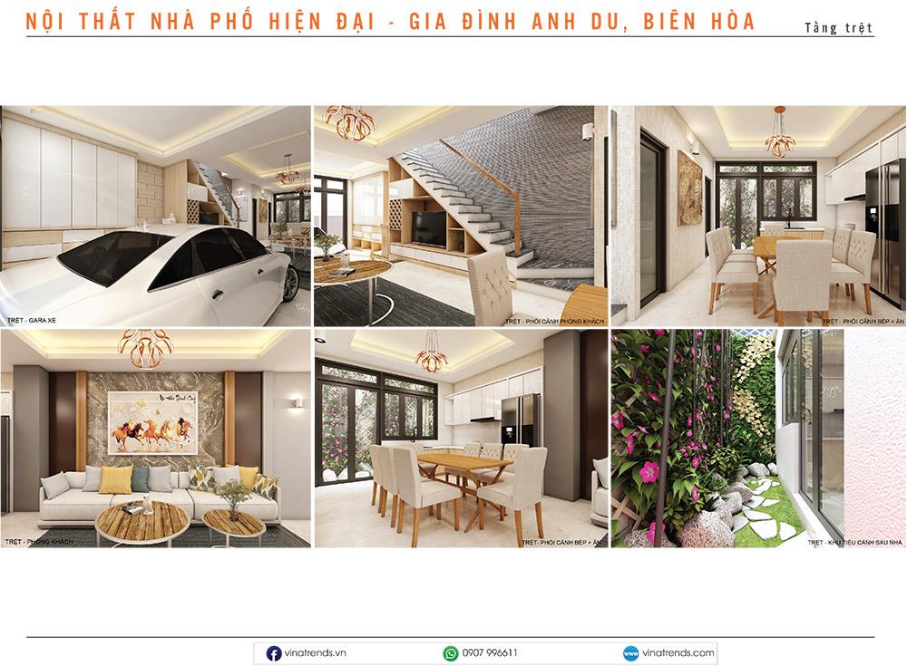 7 thiet ke noi that hien dai nha lien ke Mẫu thiết kế nội thất nhà phố, biệt thự, công trình khác [catalogue 2020]