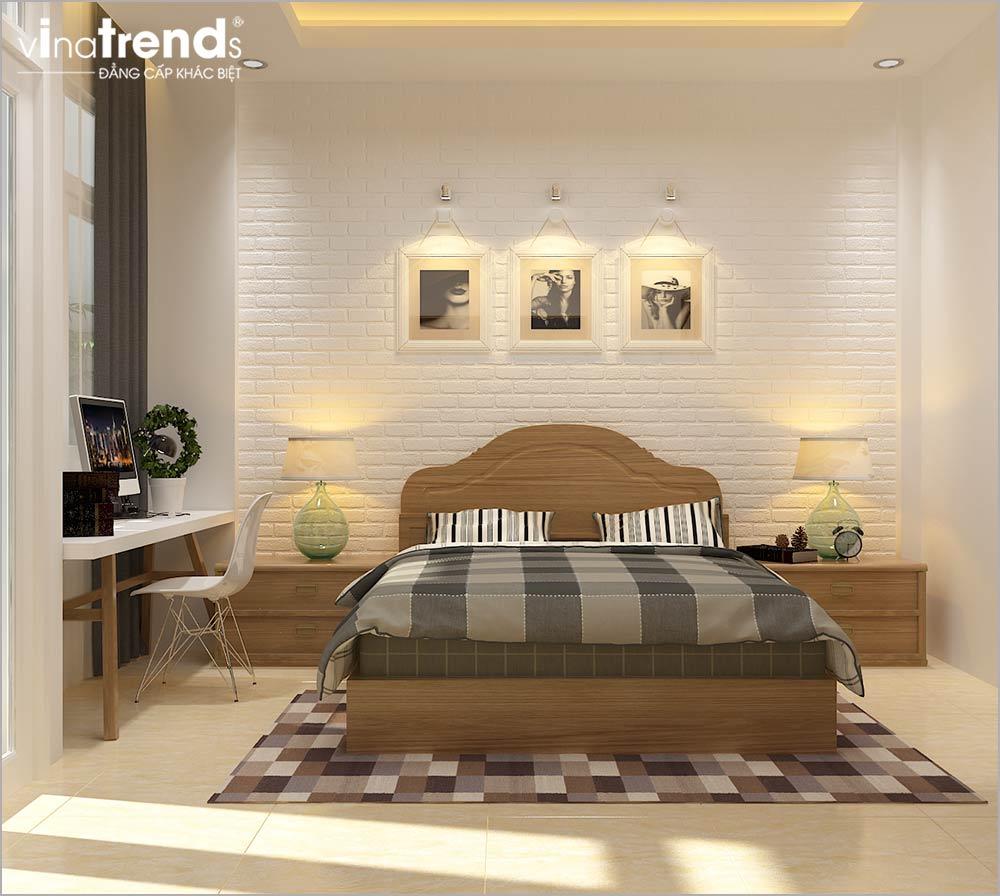 NGU SO1 Thiết kế nội thất phòng ngủ cho ông bà hợp phong thủy   NTPN260714A