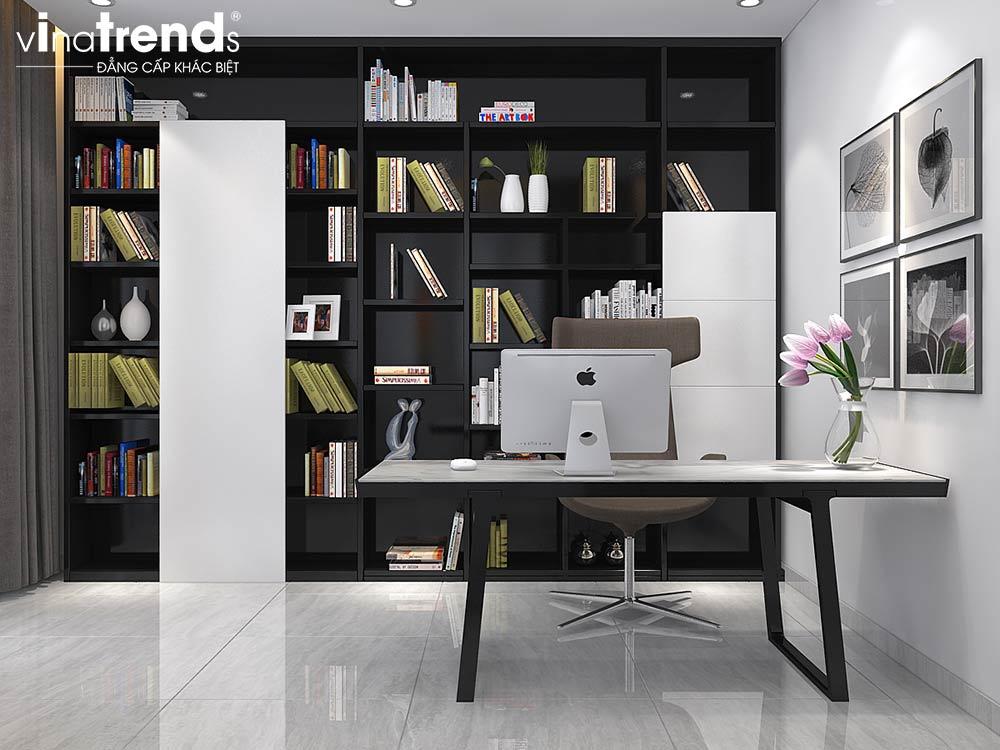 P THUVIEN Thiết kế nội thất cao cấp đậm dấu ấn nam tính   NT011213B